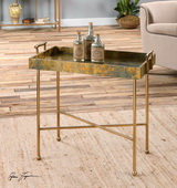 Couper Oxidized Tray Table - LUT1983