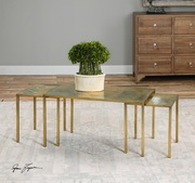Couper Oxidized Nesting Coffee Tables Set/3 - LUT1987