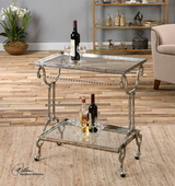 Acasia Silver Tea Cart - LUT2009