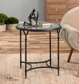 Samson Glass Side Table - LUT2021