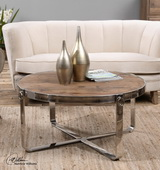 Berdine Wooden Coffee Table - LUT2049