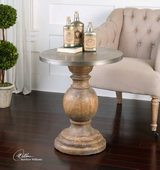 Blythe Wooden Accent Table - LUT2061