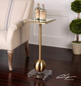Laton Mirrored Accent Table - LUT2079
