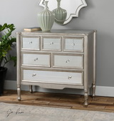 Rayvon Mirrored Accent Chest - LUT2081