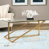 Zerrin Glass Coffee Table - LUT2101
