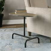 Martez Industrial Accent Table - LUT2129
