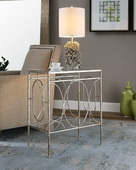 Luano Silver End Table - LUT2151
