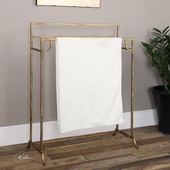 Perico Gold Towel Stand - LUT2153