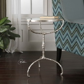 Halcion Cast Iron Accent Table - LUT2165