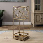 Genell Gold Iron Umbrella Stand - LUT2167
