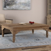 Khristian Reclaimed Wood Coffee Table