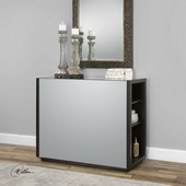 Neala Mirrored Console Table