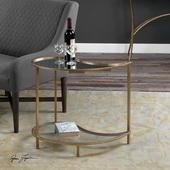 Darcie Teardrop Bunching Side Table