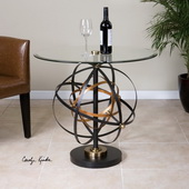 Colman Sphere Accent Table