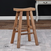 Holt Elm Wood Bar Stool - LUT5743