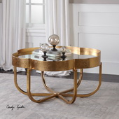 Cydney Gold Coffee Table - LUT5773