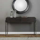 Morrigan Industrial Console Table - LUT5779