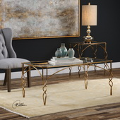 Lora Gold Coffee Table - LUT5817