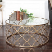 Quatrefoil Coffee Table - LUT2191