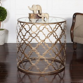 Quatrefoil End Table - LUT2193