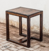 Deni Wooden End Table  - LUT7907
