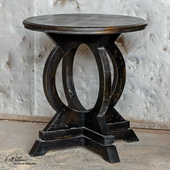 Maiva Black Accent Table  - LUT7928