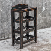 Halton Wine Rack Table - LUT2257