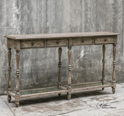 Fortuo Weathered Console Table - LUT2265