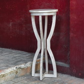Noreena Wood Plant Stand