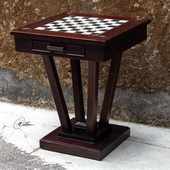 Fineas Wood Game Table