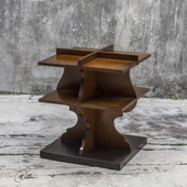 Niko Honey Accent Table - LUT5867