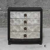 Ramila Hand Carved Accent Chest - LUT5877