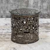 Zama Industrial Accent Table - LUT5887
