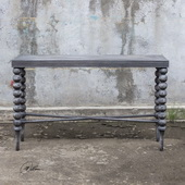 Kunja Gray Console Table - LUT5921