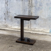Deacon Industrial Accent Table - LUT5927