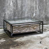Kono Reclaimed Teak Coffee Table - LUT5953