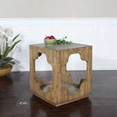 Kuba Square Accent Table - LUT2315