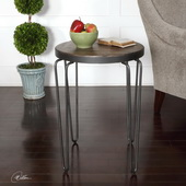 Stelios Round Accent Table - LUT2317