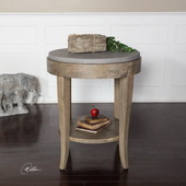 Deka Round Accent Table - LUT2321