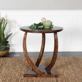 Pandhari Round Accent Table - LUT2329