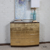 Verdura Brushed Gold Accent Chest - LUT6027
