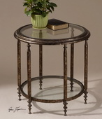 Leilani Round Accent Table  - LUT7938