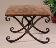 Manoj Distressed Small Bench  - LUT7943