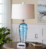Andreas Blown Glass Lamp  - LUT6830