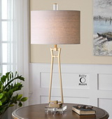 Leonidas Gold Table Lamp  - LUT6836