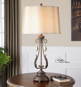 Cassia Oil Rubbed Bronze Table Lamp  - LUT6837