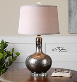 Aemilius Gray Glass Table Lamp  - LUT6846