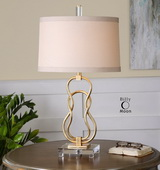 Adelais Curved Metal Lamp  - LUT6856