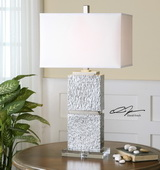 Eumelia Silver Table Lamp - LUT2369
