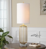 Cesinali Gold Table Lamp - LUT2373